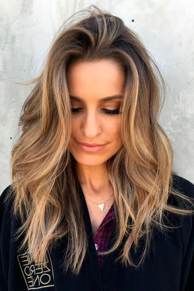 17 Popular Medium Length Hairstyles For Thick Hair   Medium Length Within Long Hairstyles For Women With Thick Hair (View 4 of 25)