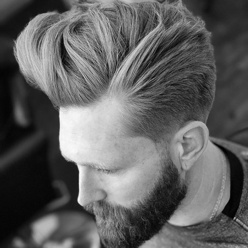 17 Quiff Haircuts For Men | Men's Hairstyles + Haircuts 2019 With Hairstyles Quiff Long Hair (View 13 of 25)