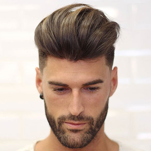 17 Quiff Haircuts For Men | Men's Hairstyles + Haircuts 2019 With Hairstyles Quiff Long Hair (View 2 of 25)