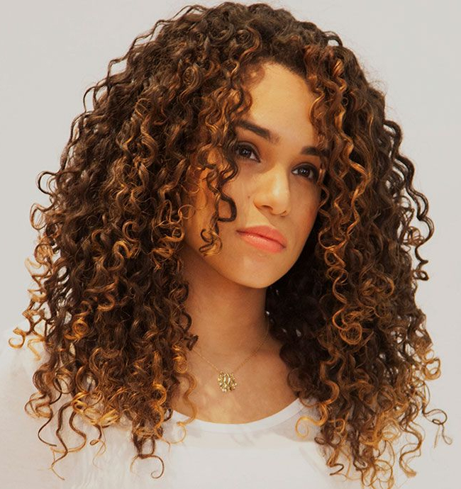 18 Best Haircuts For Curly Hair | Naturallycurly Within Haircuts For Women With Long Curly Hair (View 3 of 25)
