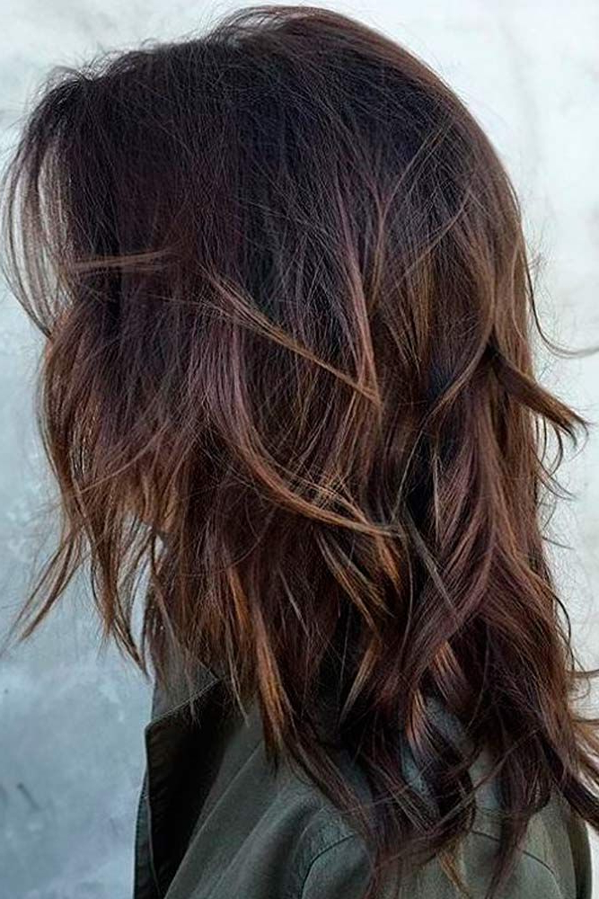 18 Chic Medium Length Layered Hair | Hair Styles | Hair Lengths Throughout Medium Long Hairstyles With Layers (View 6 of 25)