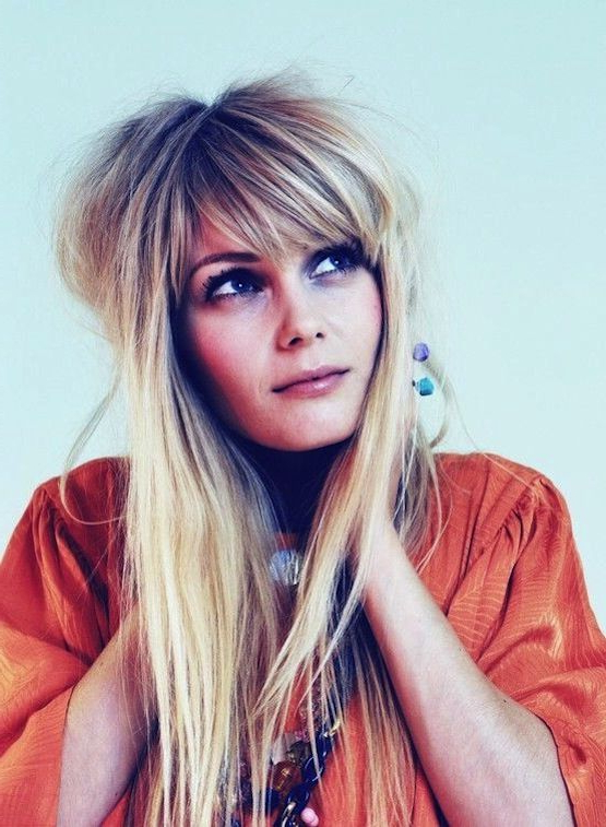 18 Freshest Long Layered Hairstyles With Bangs: Face Framing Pertaining To Face Framing Long Hairstyles (View 15 of 25)