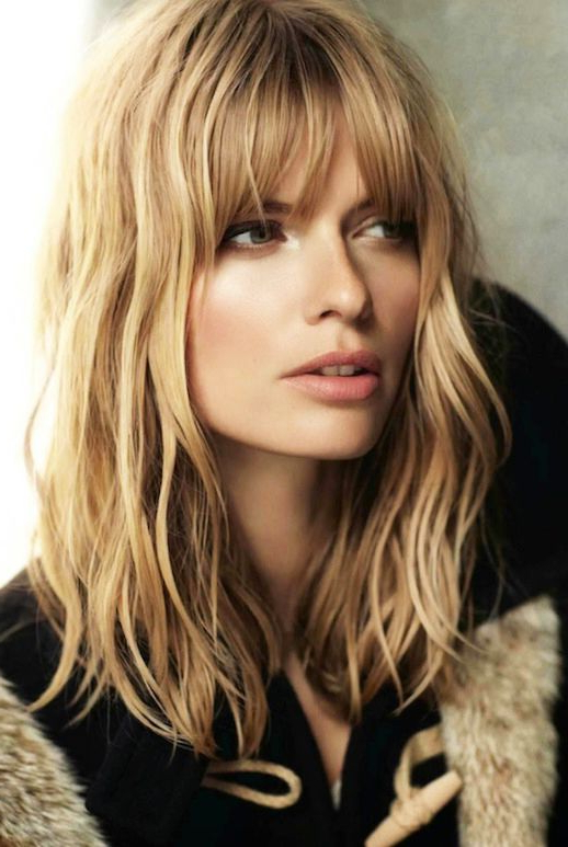 18 Freshest Long Layered Hairstyles With Bangs: Face Framing With Long Haircuts With Layers And Bangs (View 8 of 25)