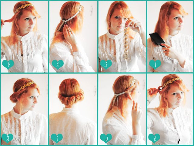 18 Graceful Vintage Hairstyle Tutorials | Styles Weekly For Vintage Updos Hairstyles For Long Hair (View 14 of 25)