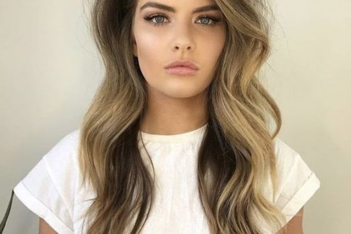 18 Greatest Long Hairstyles For Women With Long Hair In 2019 Intended For Trendy Long Hairstyles With Bangs (View 7 of 25)