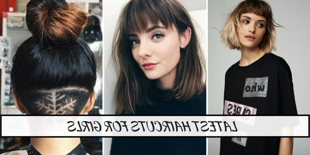 18 Latest Haircuts For Girls With Short, Medium And Long Hair In Long Quirky Hairstyles (View 10 of 25)