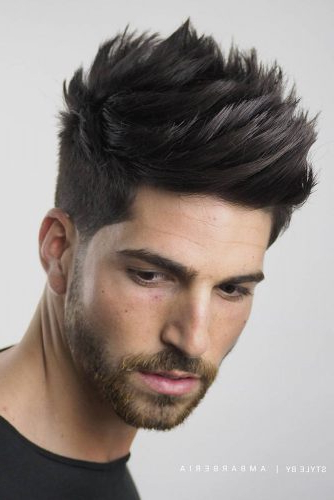 18 Modern And Attention Grabbing Spiky Hair Ideas For Men With Spiky Long Hairstyles (View 17 of 25)