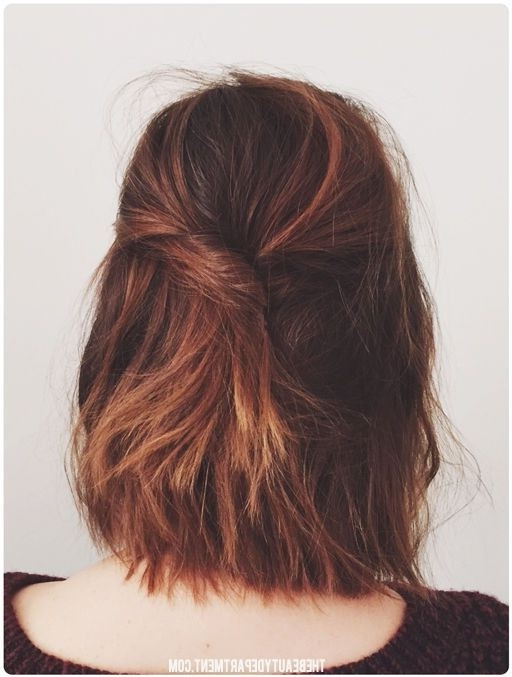 18 Shoulder Length Layered Hairstyles – Popular Haircuts With Long Hairstyles Back View (View 7 of 25)
