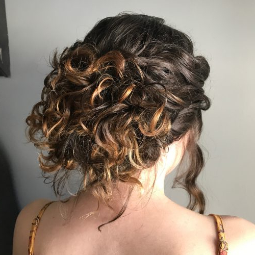 18 Stunning Curly Prom Hairstyles For 2019 – Updos, Down Do's & Braids! Regarding Curly Long Hairstyles For Prom (View 24 of 25)