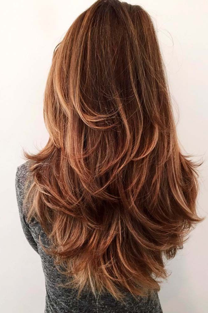 18 Stunning Long Layered Haircuts | Hair | Haircut For Thick Hair With Regard To Long Haircuts Styles With Layers (View 6 of 25)