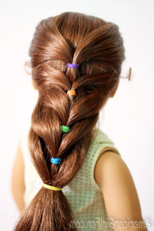 19 American Girl Doll Hairstyles For Long Hair | Hairstyles Ideas Regarding Cute Hairstyles For American Girl Dolls With Long Hair (View 5 of 25)