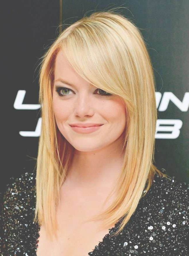 19 Best Haircuts For Round Faces To Make You Look Cuter Than Ever Regarding Best Long Haircuts For Round Face (View 6 of 25)