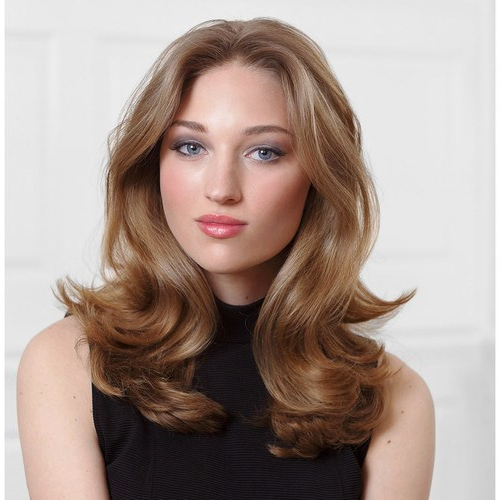 19 Best Medium Length Hairstyles For Thin Hair For Gorgeous Divas With Blowout Ready Layers For Long Hairstyles (View 16 of 25)