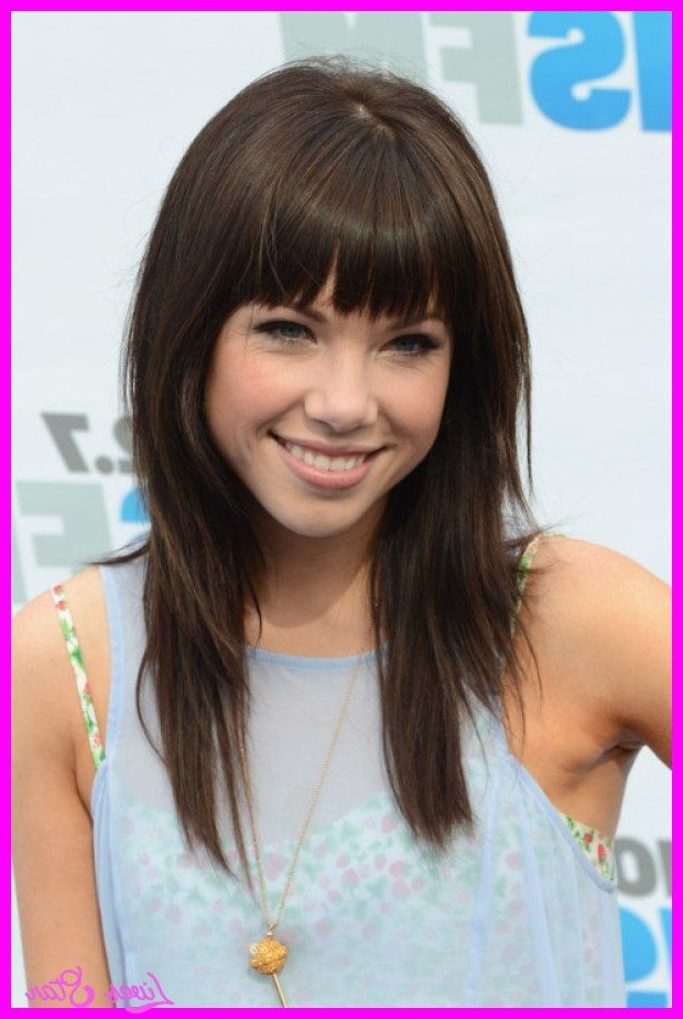 19 Haircuts For Long Hair With Bangs | Hairstyles Ideas With Cute Long Haircuts With Bangs And Layers (View 8 of 25)