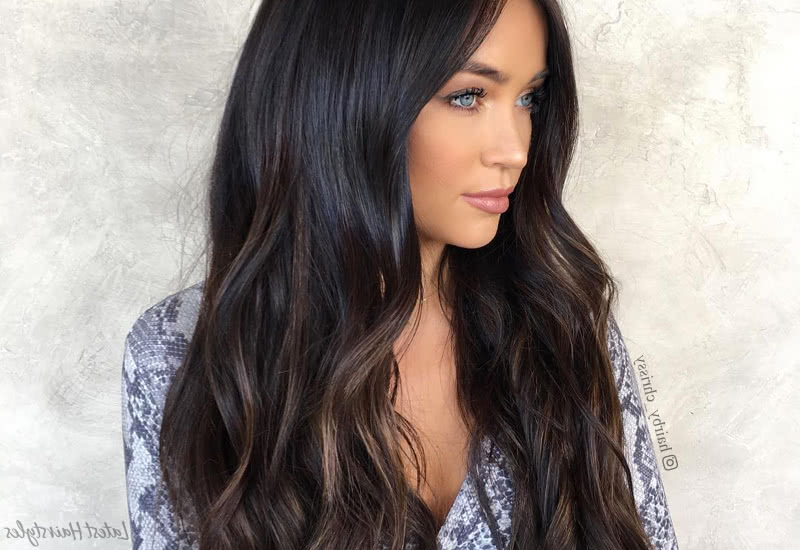19 Hottest Dark Brown Hair Colors To Inspire You In 2019 Throughout Long Hairstyles Dark Brown (View 18 of 25)