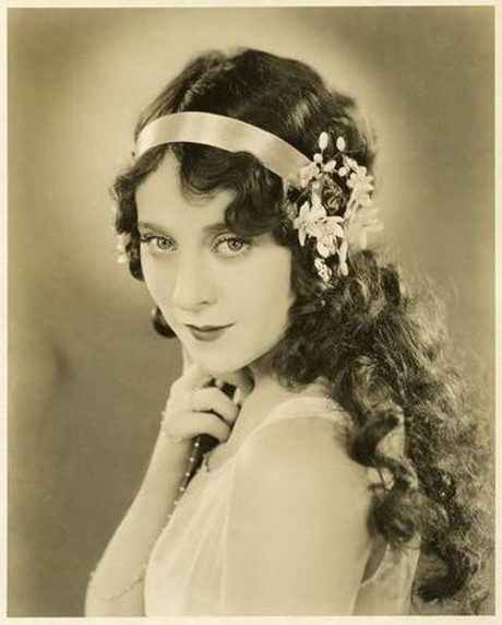 1920S Hairstyles For Long Hair | Hair Styles | Flapper Hair, Long Throughout Long Hairstyles Of The 1920S (View 8 of 25)