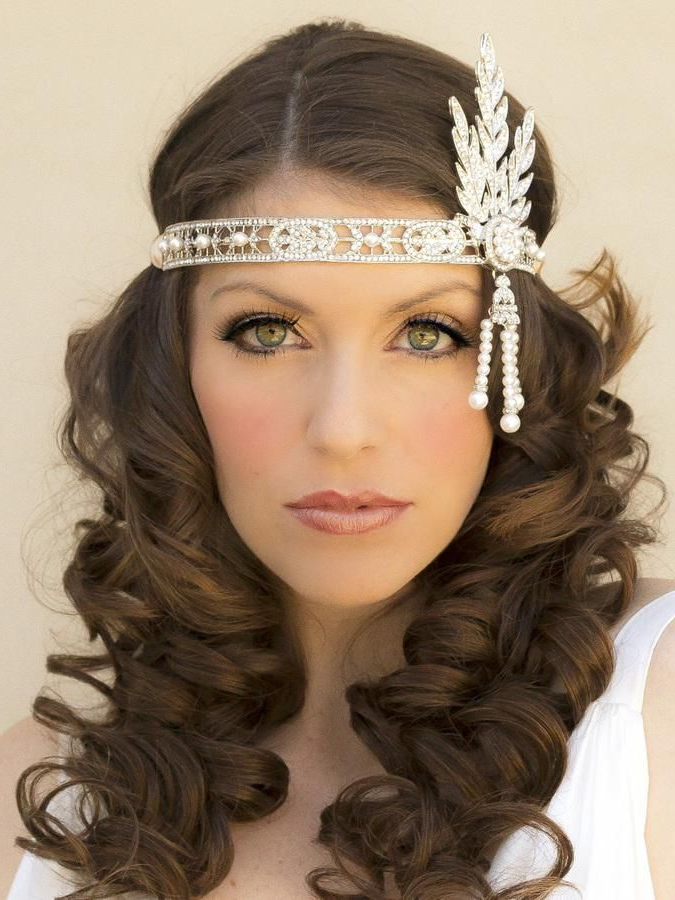 Featured Photo of Long Hairstyles With Headbands