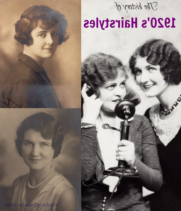 1920S Hairstyles History Long Hair To Bobbed Hair With Long Hairstyles In The 1920S (View 13 of 25)