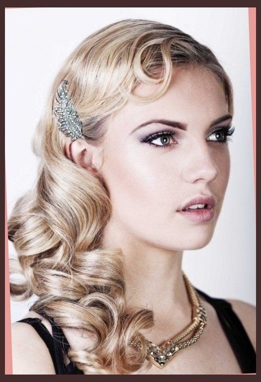 1920S Theme On Pinterest | Gats, 1920S Hair And 1920S Within Roaring Throughout Long Hairstyles In The 1920S (View 2 of 25)