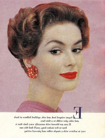 1950S Hairstyles – 50S Hairstyles From Short To Long Pertaining To Long Hairstyles In The 1950S (View 7 of 25)