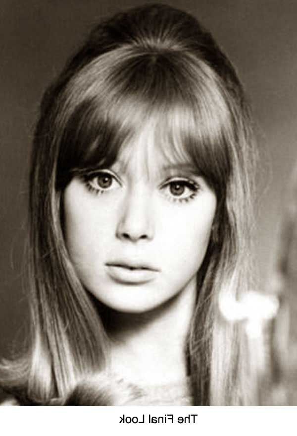 1960's Hairstyles For Long Hair – Pattie Boyd | I Love Vintage With Regard To 1960S Long Hairstyles (View 3 of 25)