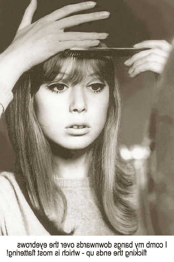 1960's Hairstyles For Long Hair – Pattie Boyd | The Amazing 60's Inside 1960S Long Hairstyles (View 5 of 25)