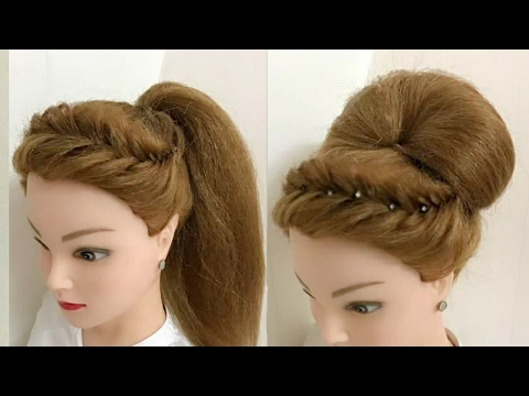 2 Awesome Hairstyles For Wedding Or Party – Youtube Within Long Hairstyles For Wedding Party (View 9 of 25)