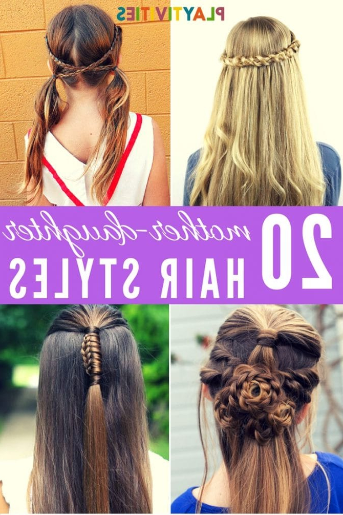 20 Adorable Long Hair Hairstyles For Girls – Playtivities Regarding Long Hairstyles For Girls (View 6 of 25)