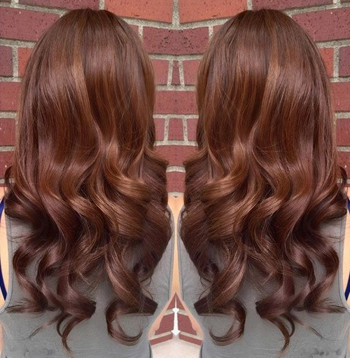 20 Amazing Brunette & Brown Hairstyle Ideas For 2019 – Pretty Designs Regarding Choppy Chestnut Locks For Long Hairstyles (View 18 of 25)