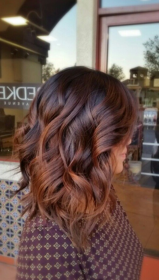 20 Amazing Brunette & Brown Hairstyle Ideas For 2019 – Pretty Designs With Choppy Chestnut Locks For Long Hairstyles (View 7 of 25)
