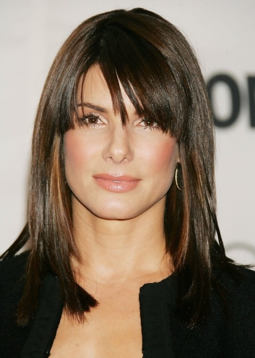 20 Attractive And Stylish Hairstyles For Square Faces – Haircuts With Regard To Long Hairstyles For Square Faces With Bangs (View 21 of 25)