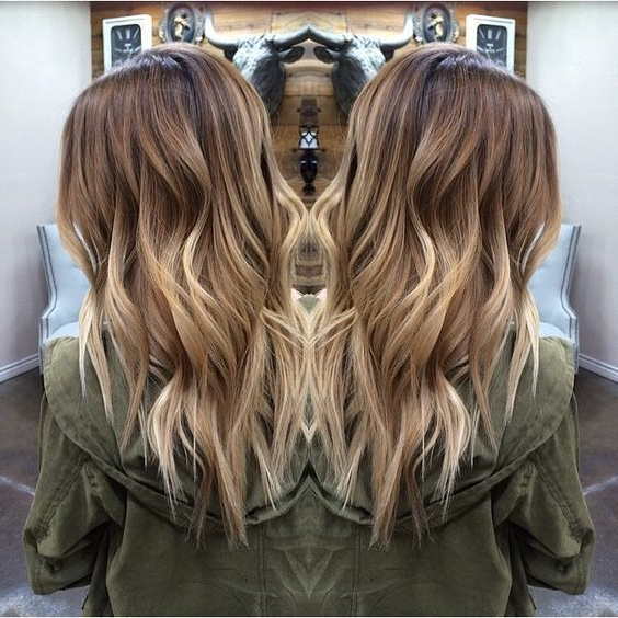 20 Beautiful Blonde Balayage Hair Color Ideas – Trendy Hair Color 2019 Regarding Balayage Hairstyles For Long Layers (View 19 of 25)
