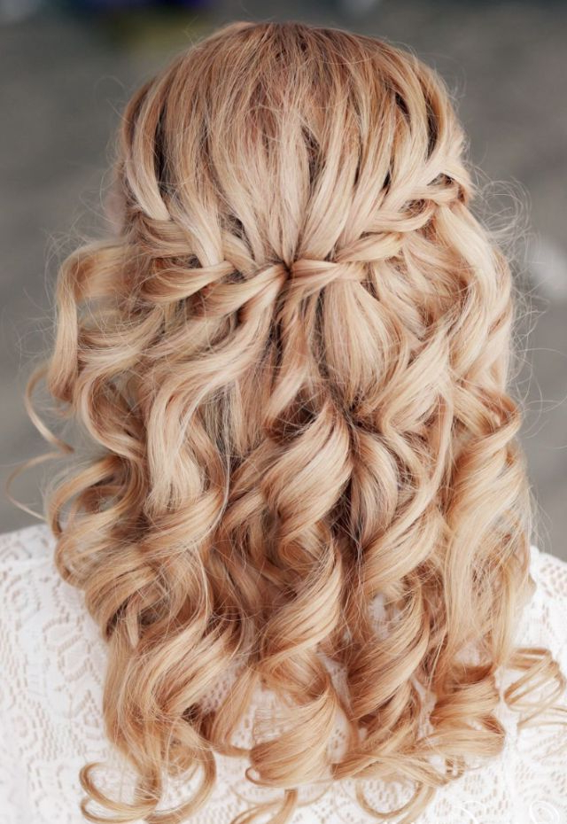20 Beautiful Hairstyles For Prom | Styles Weekly In Chic Waterfall Braid Prom Updos (View 11 of 25)