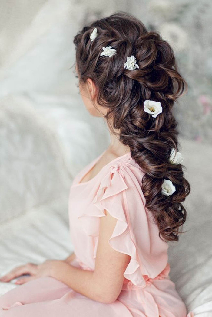 20 Beautiful Party Hairstyles For Long Hair – Hairstyles – Crayon With Regard To Long Hairstyles For Wedding Party (View 22 of 25)
