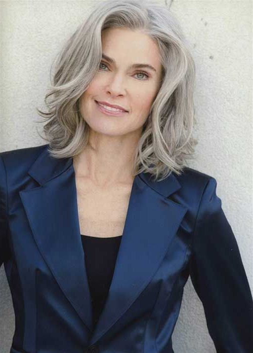 20+ Best Hair Styles For Older Women | Long Hairstyles 2017 & Long Inside Hair Styles For Older Women With Long Hair (View 6 of 25)