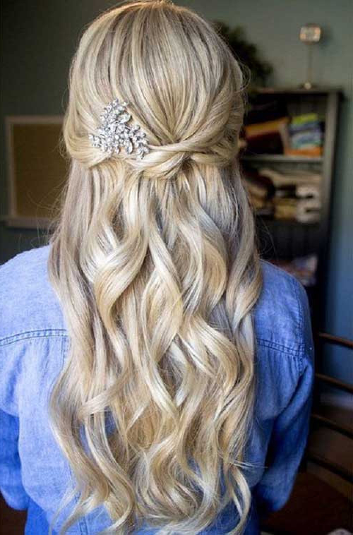 20 Best Ideas Prom Up Hairstyles For Long Hair – Home Inspiration Within Long Hairstyles At Home (View 13 of 25)