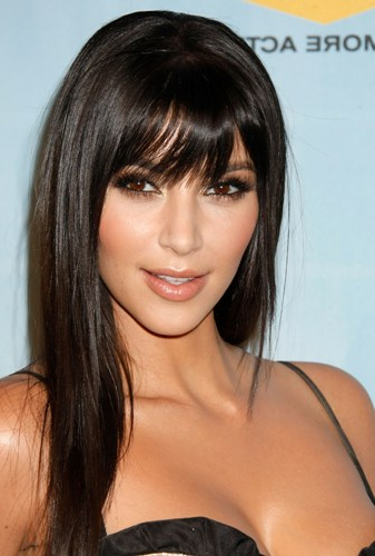 20 Best Looking Hairstyles For Oval Face Shape Women In 2019 For Long Haircuts With Bangs For Oval Faces (View 14 of 25)