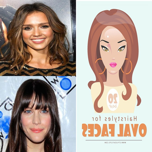 20 Best Looking Hairstyles For Oval Face Shape Women In 2019 For Long Hairstyles Rectangular Face Shape (View 12 of 25)