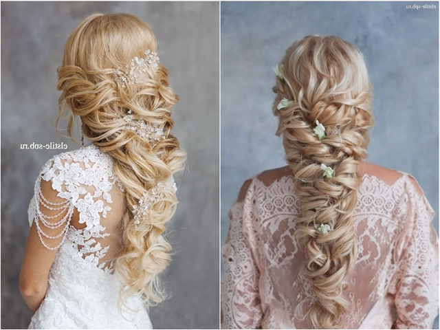 20 Best New Wedding Hairstyles To Try | Deer Pearl Flowers For Long Curly Braided Hairstyles (View 15 of 25)