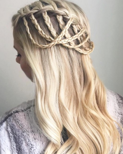 20 Best Waterfall Braid Hairstyle Ideas – Hairstyles Weekly Within Chic Waterfall Braid Prom Updos (View 7 of 25)