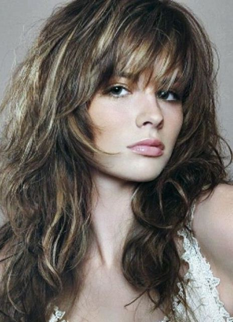 20 Classy Long And Medium Shag Haircuts Pertaining To Medium Long Shaggy Hairstyles (View 21 of 25)