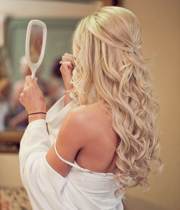 20 Creative And Beautiful Wedding Hairstyles For Long Hair Pertaining To Wedding Long Hairdos (View 16 of 25)