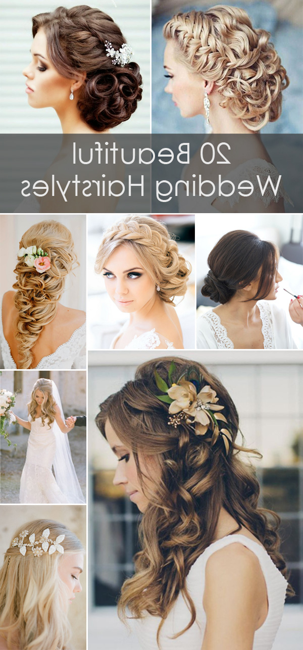 20 Creative And Beautiful Wedding Hairstyles For Long Hair Regarding Elegant Long Hairstyles For Weddings (View 2 of 25)