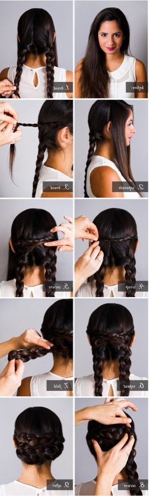 20 Cute And Easy Braided Hairstyle Tutorials Within Long Hairstyles For Jeans (View 9 of 25)