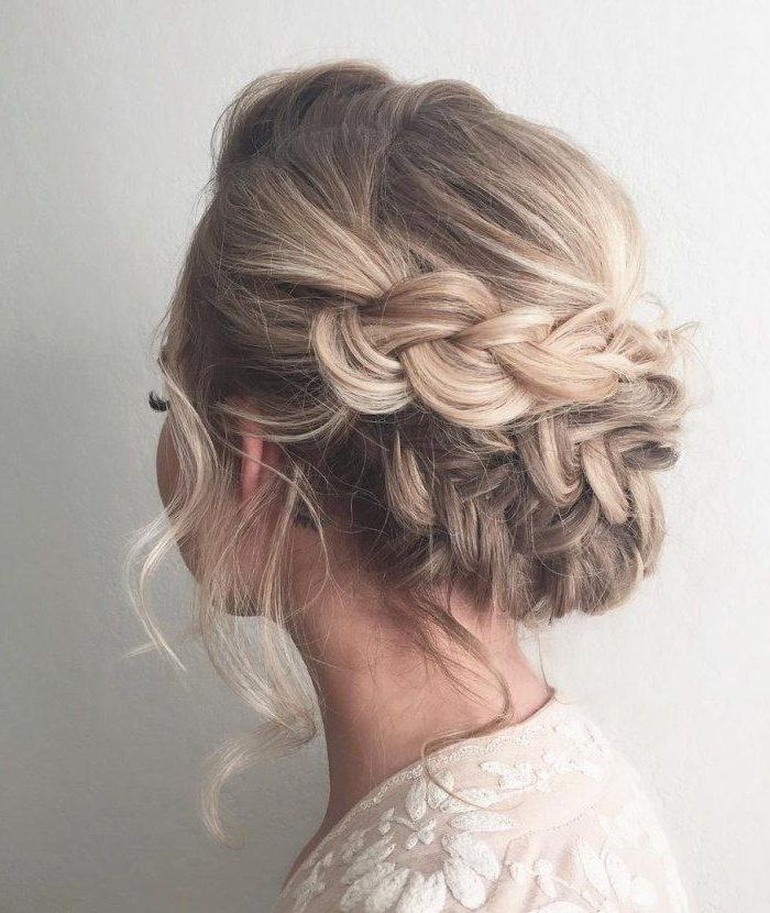 20 Cute And Easy Party Hairstyles For All Hair Lengths And Types Pertaining To Dutch Braid Prom Updos (View 22 of 25)