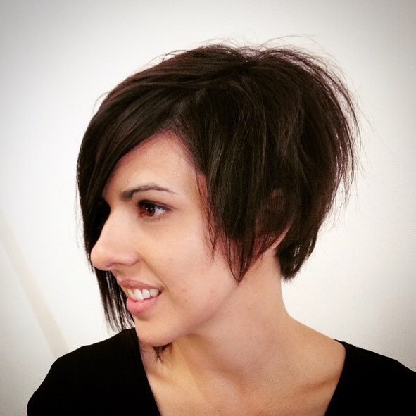 20 Cute Asymmetrical Bob Hair Styles You Will Love! – Hairstyles Weekly Intended For Haircuts For Long Noses (View 14 of 25)