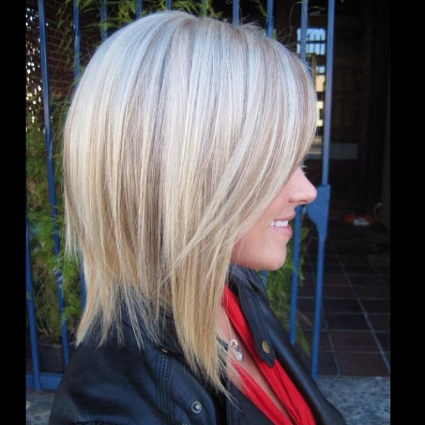 20 Cute Bob Hairstyles For Fine Hair   Styles Weekly Intended For Long Tapered Bob Haircuts (View 9 of 25)