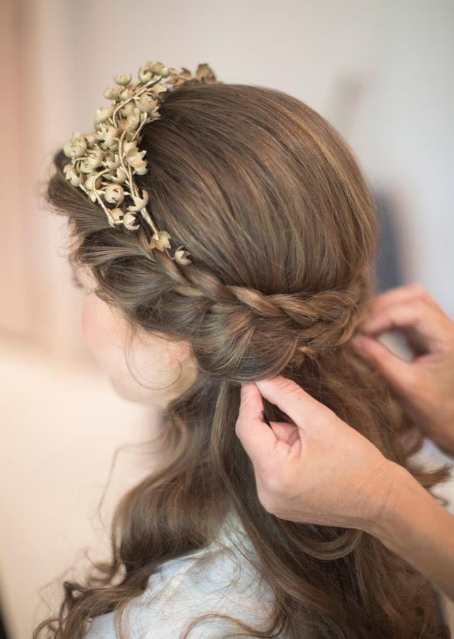 20 Cute French Braid Hairstyles To Up Your Weekend Hair Game   Prom For Floral Braid Crowns Hairstyles For Prom (View 3 of 25)