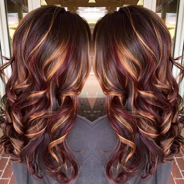 20 Cute & Unique Hair Color Ideas For Long Hair Inside Long Hairstyles With Color (View 2 of 25)