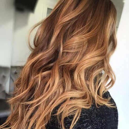 20 Cute & Unique Hair Color Ideas For Long Hair With Long Hairstyles With Color (View 8 of 25)